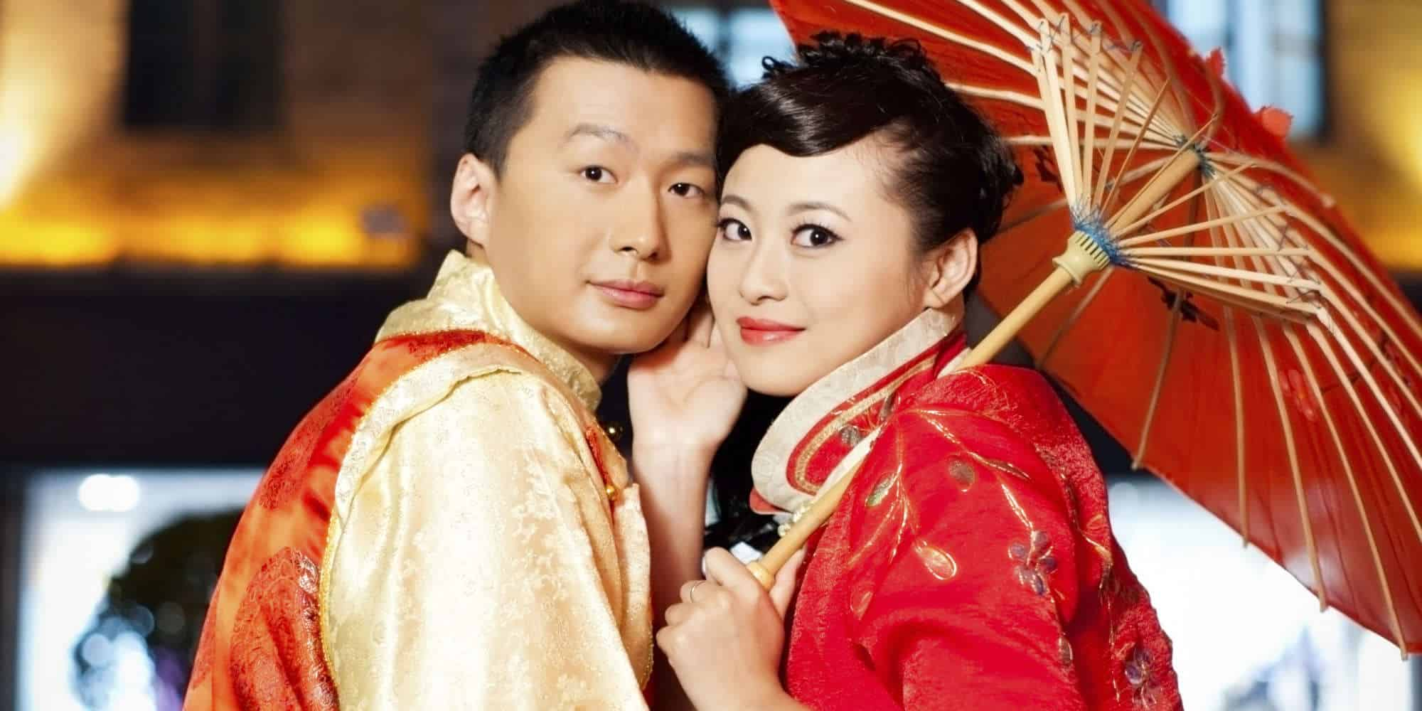 Asian traditional wedding