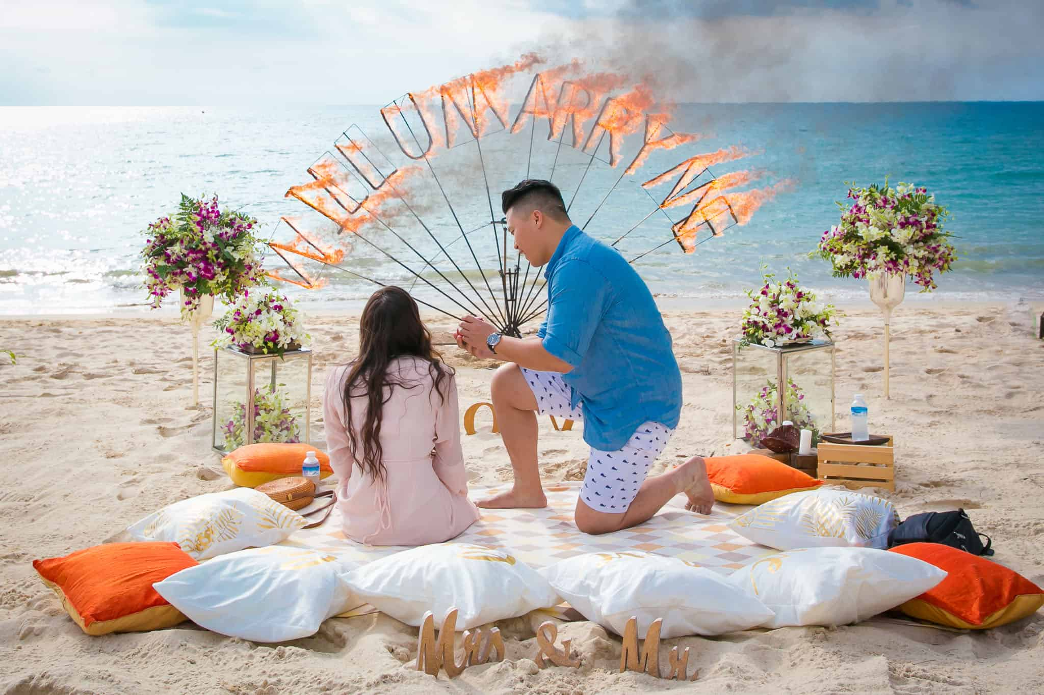 marriage proposal phuket