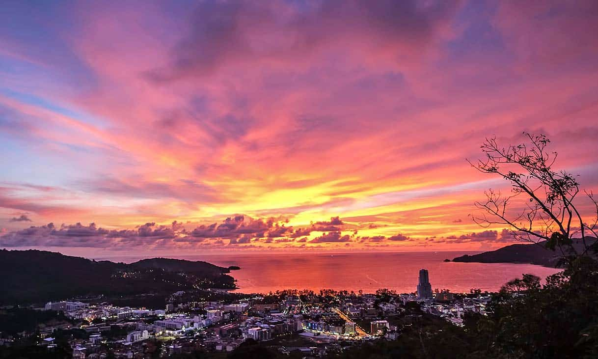Sunset in Phuket