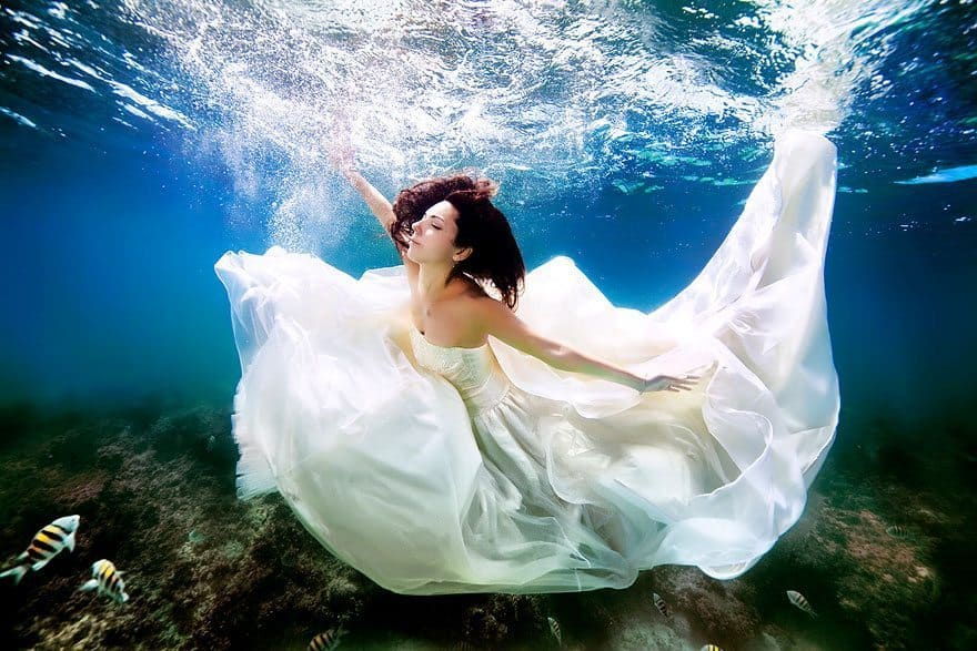 wedding under water phuket