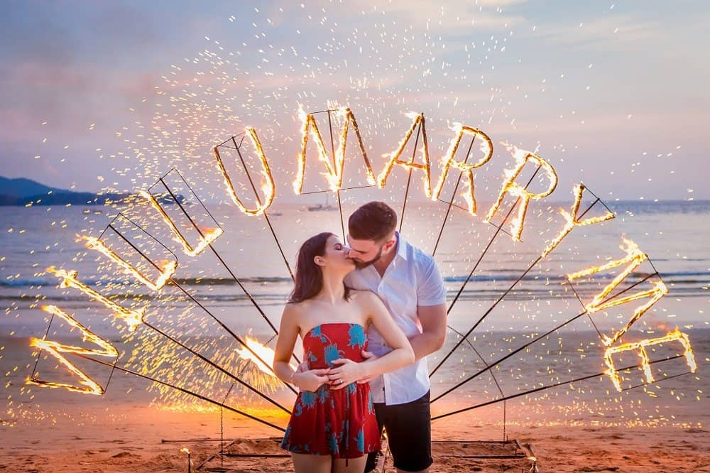 Marriage Proposal in Phuket