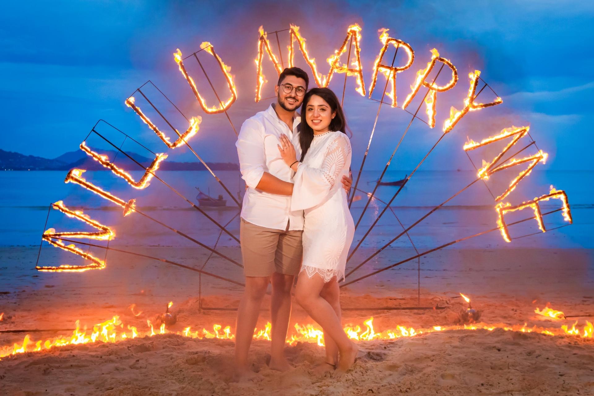 Amanpreet Singh (marriage proposal)